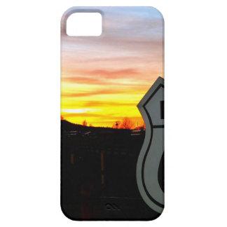 Weg 66 am Sonnenuntergang Barely There iPhone 5 Hülle
