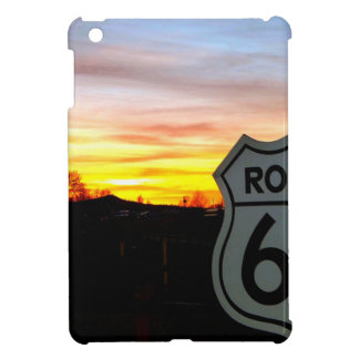 Weg 66 am Sonnenuntergang iPad Mini Hülle