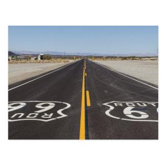 Weg 66, Amboy (Kalifornien, USA) Postkarte