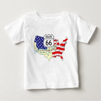 Weg 66 baby t-shirt