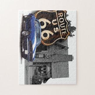 Weg 66 Camaro Puzzle