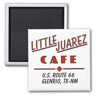 Weg 66 kleiner Juarez Café Glenrio Magnet