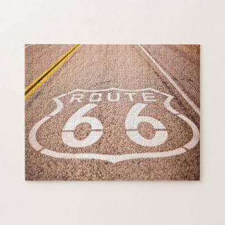 Weg 66 Nevada Puzzle