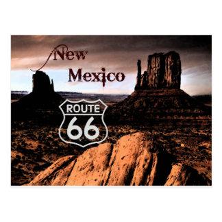 Weg 66 New-Mexiko Postkarte