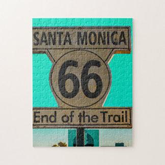 Weg 66 Santa Monica. Puzzle