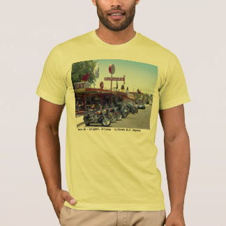 Weg 66 ~ Seligman, Arizona-Klassiker-T - Shirt