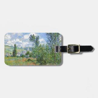 Weg auf den Mohnblumen-Gebieten - Claude Monet Kofferanhänger