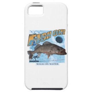 Weg auf Wasserhornhautflecken iPhone 5 Etui