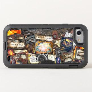 Weg der Leben-Collage OtterBox Defender iPhone 8/7 Hülle