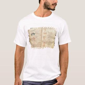 Weg des Mondes über den Konstellationen T-Shirt