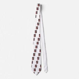 Weg des Schutzes Bedruckte Krawatten