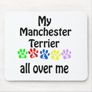 Weg-Entwurf Manchesters Terrier Mousepad