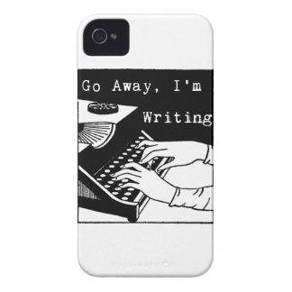 Weg gehe ich schreibe Schreibmaschine iPhone 4 Hüllen