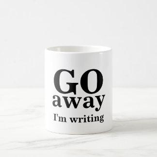 Weg GEHE ich schreibe Tasse