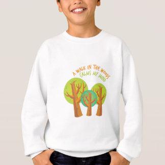 Weg im Holz Sweatshirt
