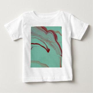 Weg schwimmen baby t-shirt