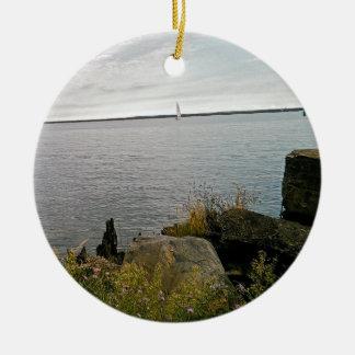 weg segeln keramik ornament