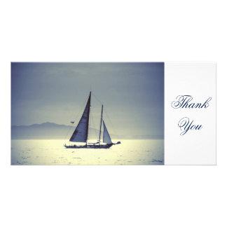 Weg segeln photokarten