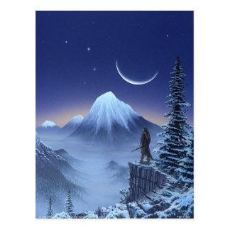 Weg-Sucher Postkarte