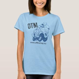 Weg vom Karten-Logo mit Schablone T-Shirt