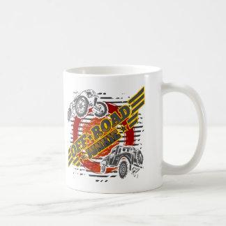 Weg vom Straßen-Junkien 4x4 Kaffeetasse