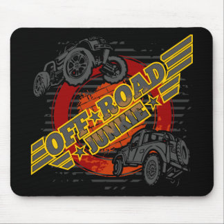 Weg vom Straßen-Junkien 4x4 Mousepad