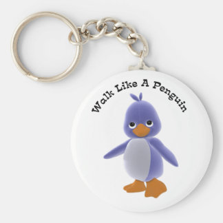 Weg wie ein Pinguin Keychain Schlüsselanhänger