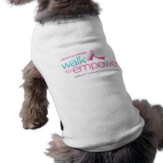 Weg, zum des Haustier-T - Shirt zu bevollmächtigen