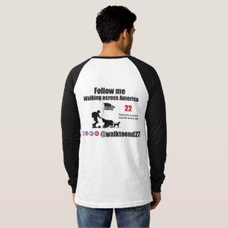 Weg, zum des Shirts mit 22 Raglan zu beenden