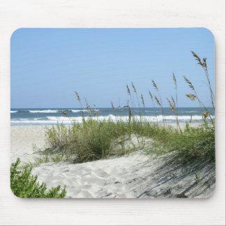 Weg zur Meer-Ocracoke Insel Mauspad