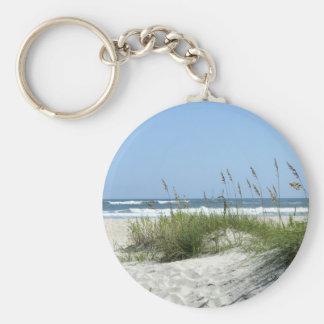 Weg zur Meer-Ocracoke Insel Schlüsselanhänger