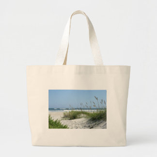 Weg zur Meer-Ocracoke Insel Einkaufstaschen