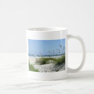 Weg zur Meer-Ocracoke Insel Tasse
