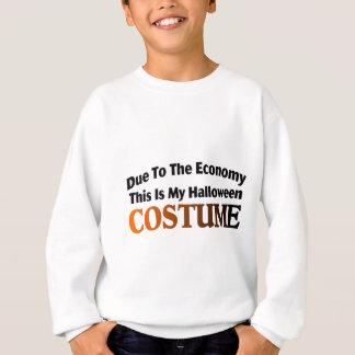 Wegen des Wirtschafts-Kostüms Sweatshirt