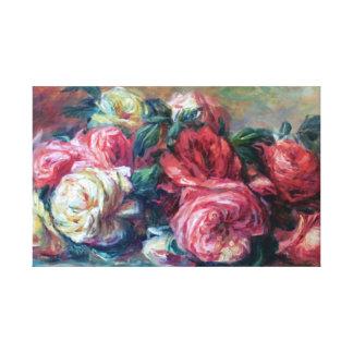 Weggeworfene Rosen Renoir feine Kunst Leinwanddruck