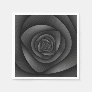 Wegwerfservietten-gewundenes Labyrinth im Papierserviette