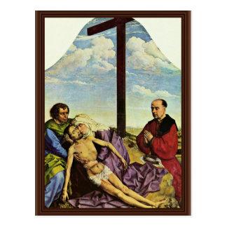 Wehklage-Fragment durch Weyden Rogier Van Der (Bes Postkarte