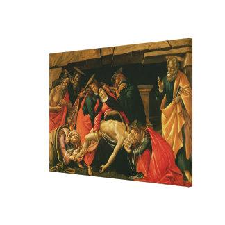 Wehklage von Christus. c.1490 Gespannte Galerie Drucke