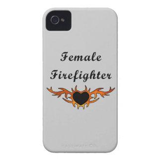 Weibliche Feuerwehrmann-Tätowierung iPhone 4 Hülle
