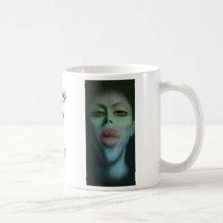 Weibliche Hauptentwurf Tasse