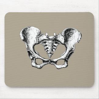 Weibliche Pelvis Mousepad