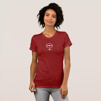 Weiblicher Drohne-Pilot DJI Mavic T-Shirt