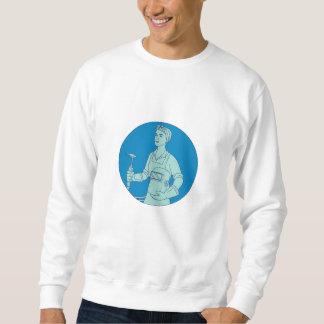 Weiblicher Sweatshirt