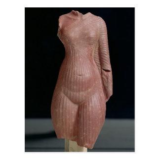 Weiblicher Torso, vermutlich Königin Nefertiti Postkarte