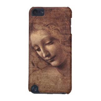 Weibliches Hauptla Scapigliata durch Leonardo da iPod Touch 5G Hülle