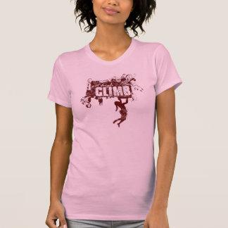 Weibliches Kletternt-stück T-Shirt