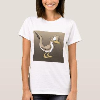 Weibliches Reptilian-Enten-Shirt T-Shirt