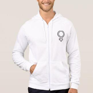 Weibliches Symbol Hoodie