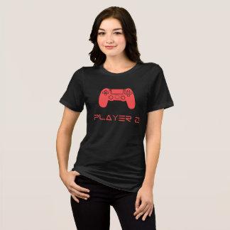 Weibliches Unterhemd PLAYER 2 ,(Schwarz)