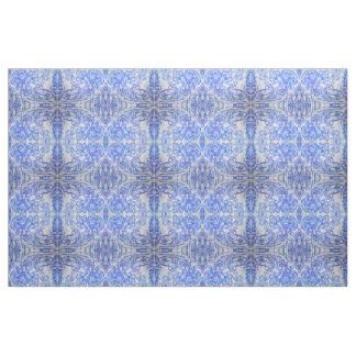 Weich Blau widergespiegelte Natur Stoff
